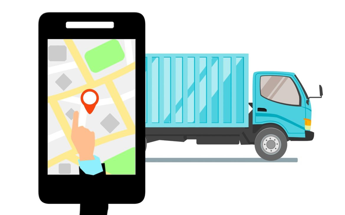 GPS Tracking, Picture of Phone